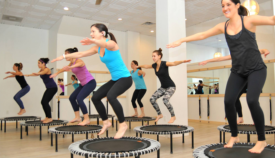 A rebounder class at Freehouse Fitness | Photo via Facebook