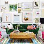 The Inspiration: A color-soaked sitting  room by designer and HGTV  host Emily Henderson | Photo courtesy Zeke Ruelas and Emily Henderson