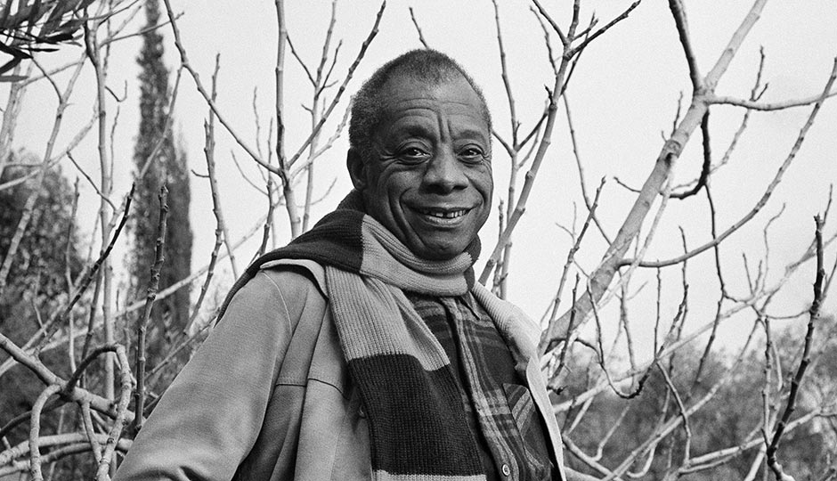 James Baldwin in 1983 (AP file photo)