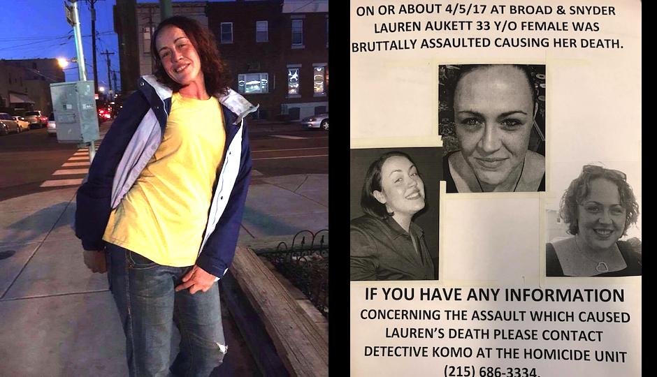 Who Killed Lauren Aukett In South Philadelphia?