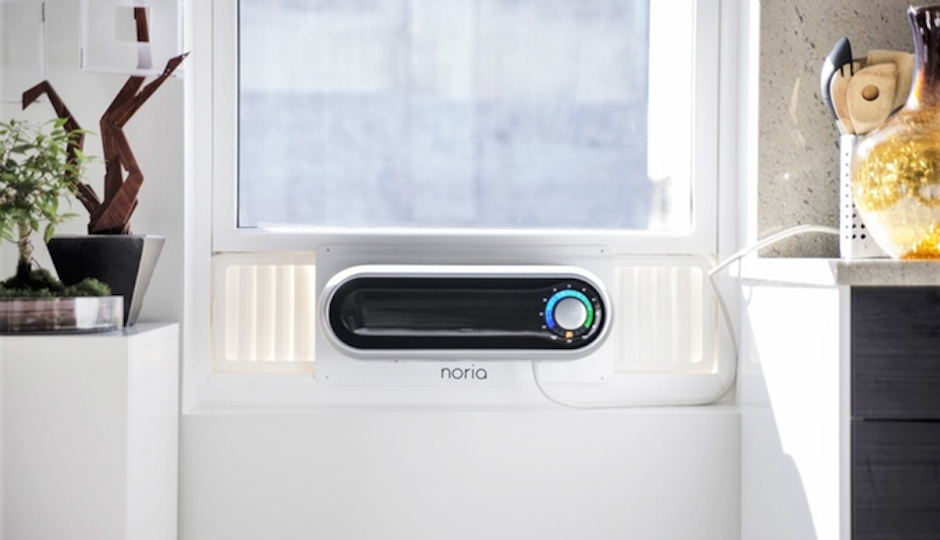 A design prototype of the Noria air conditioner used in the crowdfunding campaign.