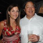 "Susan Halpern and Edward ""Ted"" Millstein. (Photo by HughE Dillon)"