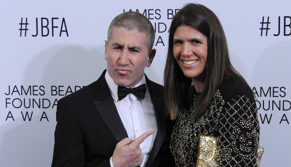 Michael and Mary Solomonov at the 2016 James Beard Awards in Chicago, Ill. (AP | Matt Marton)