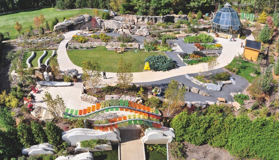 childhoods gate childrens garden photo glass house usa