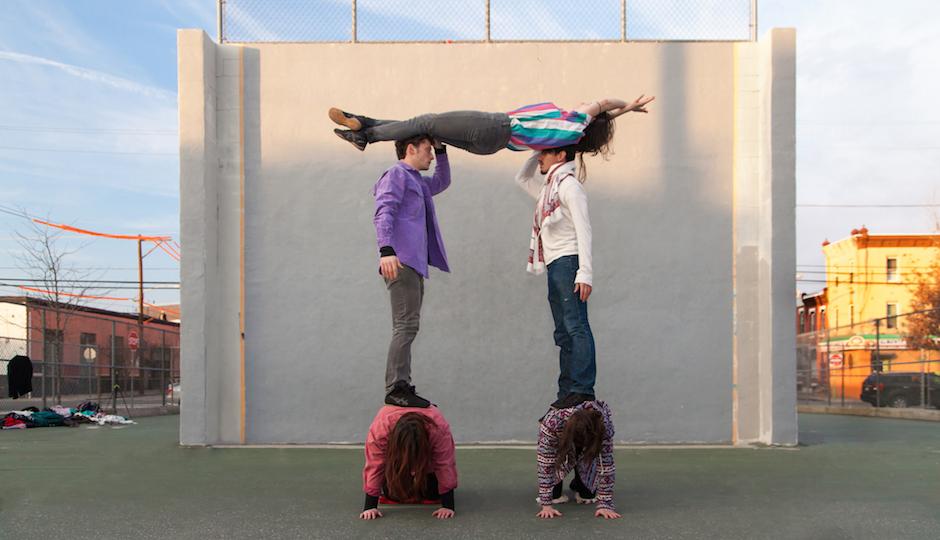 Almanac Dance Circus Theatre performs two shows at FringeArts this week. (Daniel Kontz)