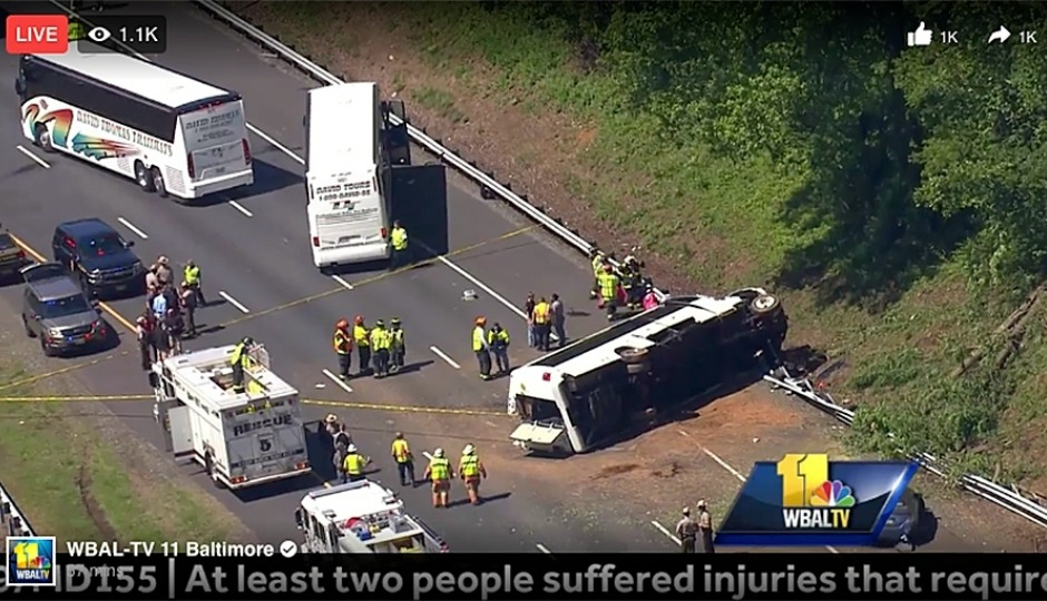 30 Injured in Accident Involving Bus With Philly Schoolchildren