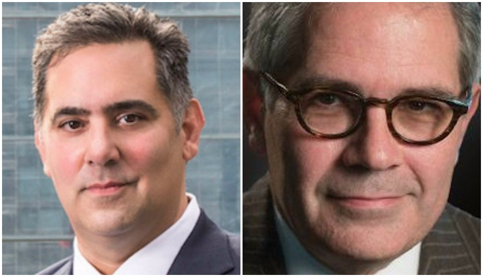 L to R: Rich Negrin and Larry Krasner