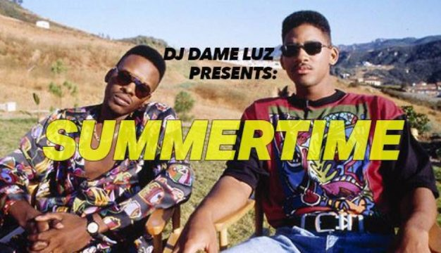 "Dame Luz's ""Summertime: Outdoor 90s Dance Party"" is on Friday, May 5th."