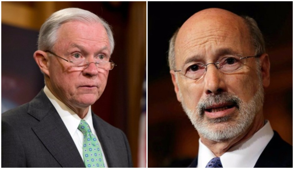 tom wolf, jeff sessions