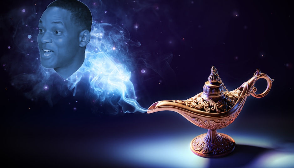 """Will Smith Cast in Disney's Live-Action """"Aladdin"""" Remake"""