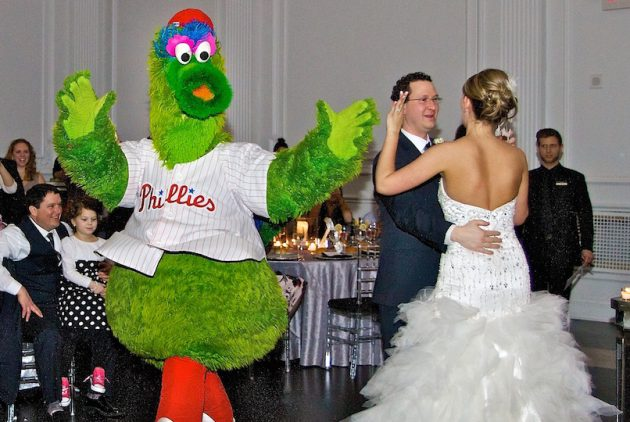 How to Get a Philadelphia Pro Sports Mascot to Your Wedding
