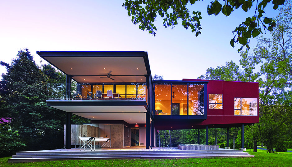 Habitat: A Modern Riverside Home in West Norriton