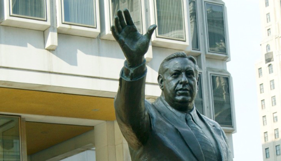 City Hall seeks input on future of Rizzo statue