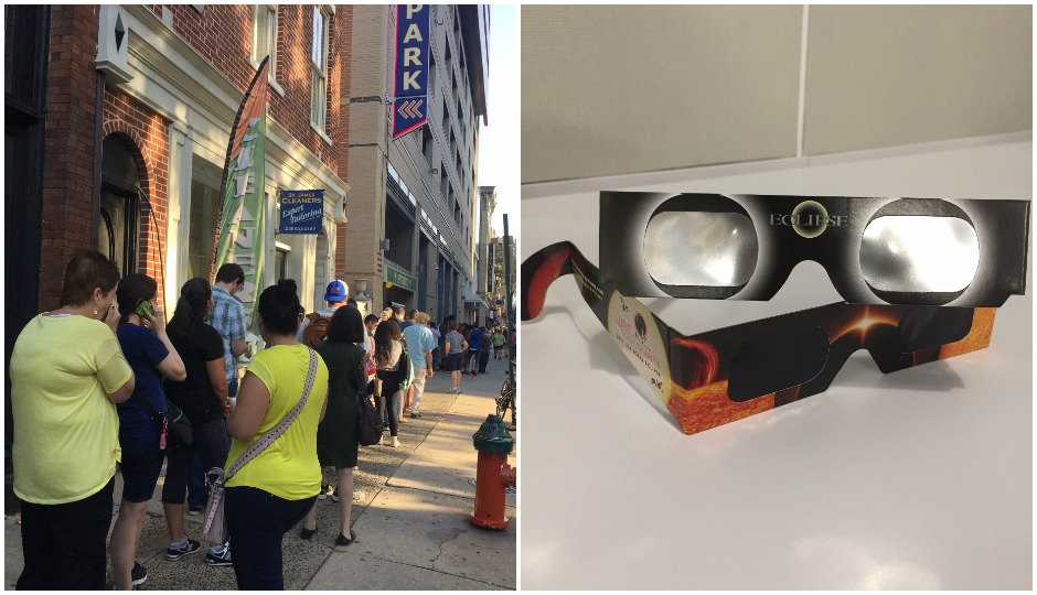 Stop Waiting in Long Lines for Solar Eclipse Glasses