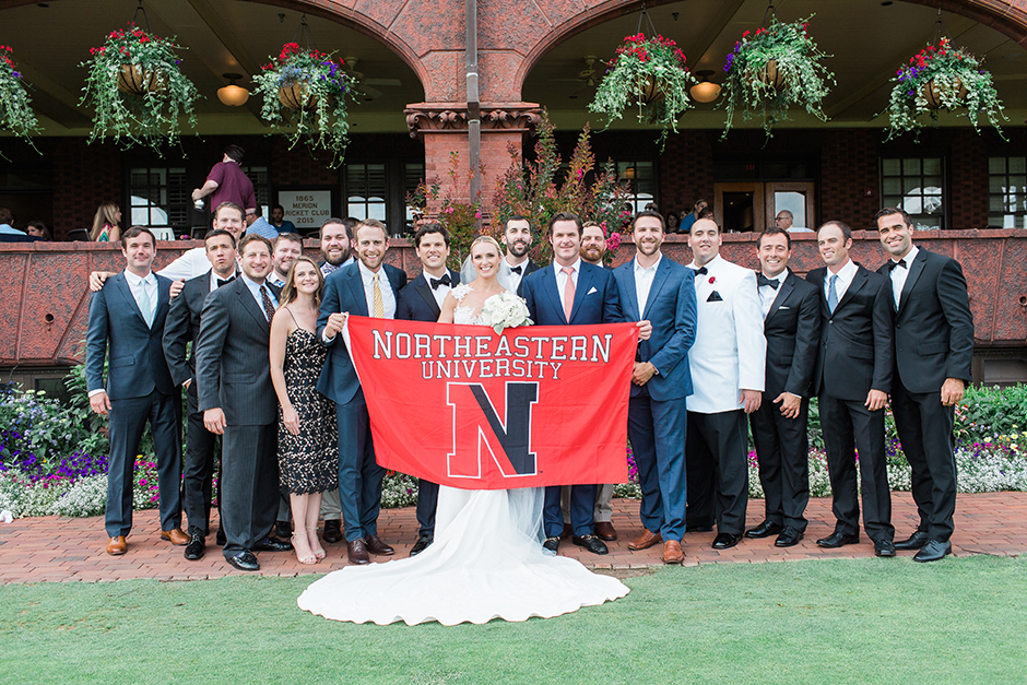 This Merion Cricket Club Wedding Is Preppy Perfection