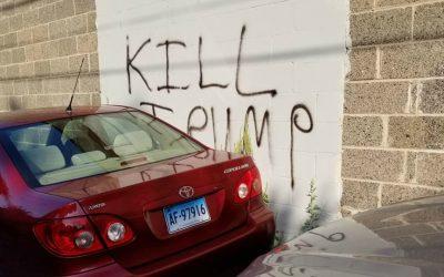 trump, graffiti, manayunk