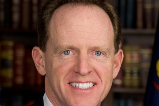 Two Philly Activists Slapped With $600 Tickets Over Messy Toomey Protest