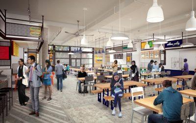 University of Pennsylvania Food Hall Rendering