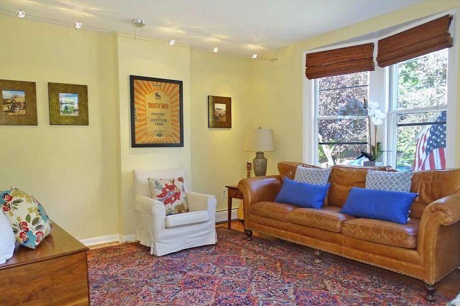 240 Willow Ave  living room. A Fresh Start in Wayne for  299K   Philadelphia Magazine