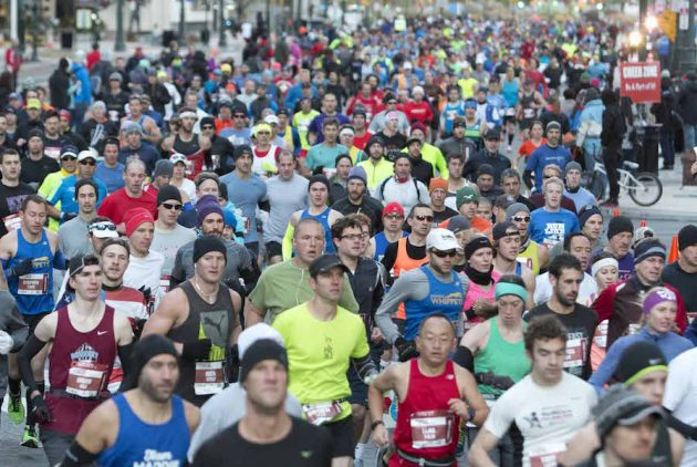 10 Hilarious Spectator Signs From the 2017 Philadelphia Marathon