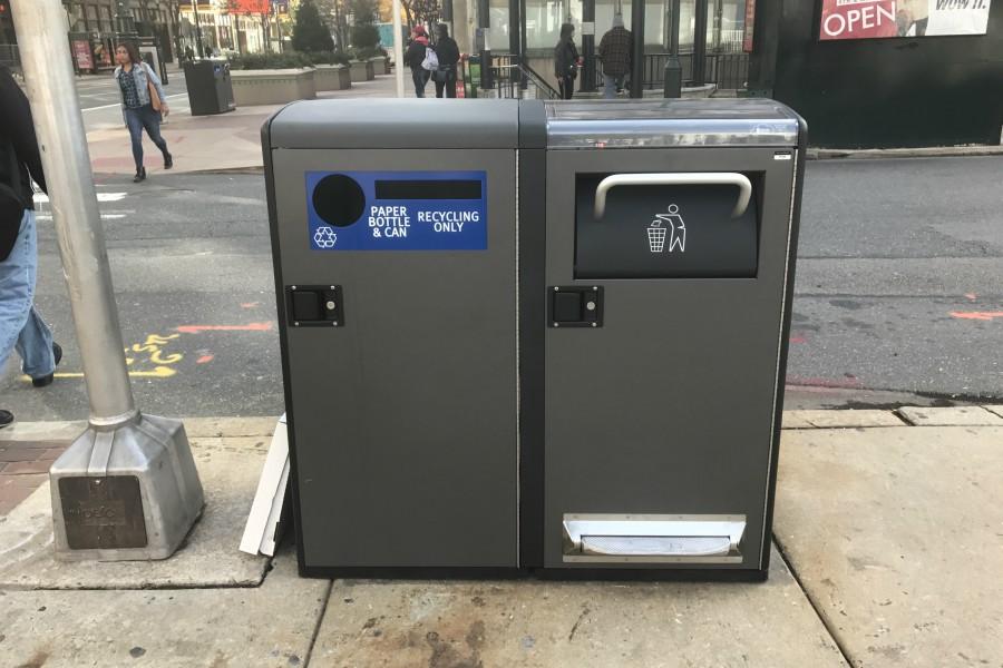 trash cans, trash can, bigbelly