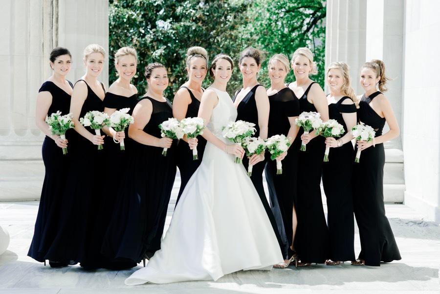 This Classic Black & White Wedding is Also Classic Philadelphia ...
