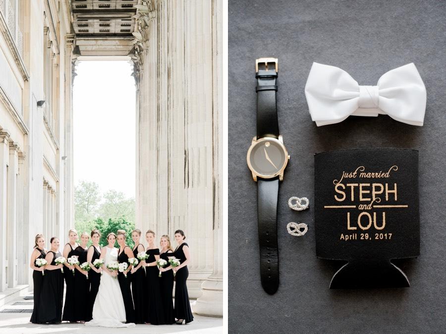 This Clic Black White Wedding Is Also Philadelphia