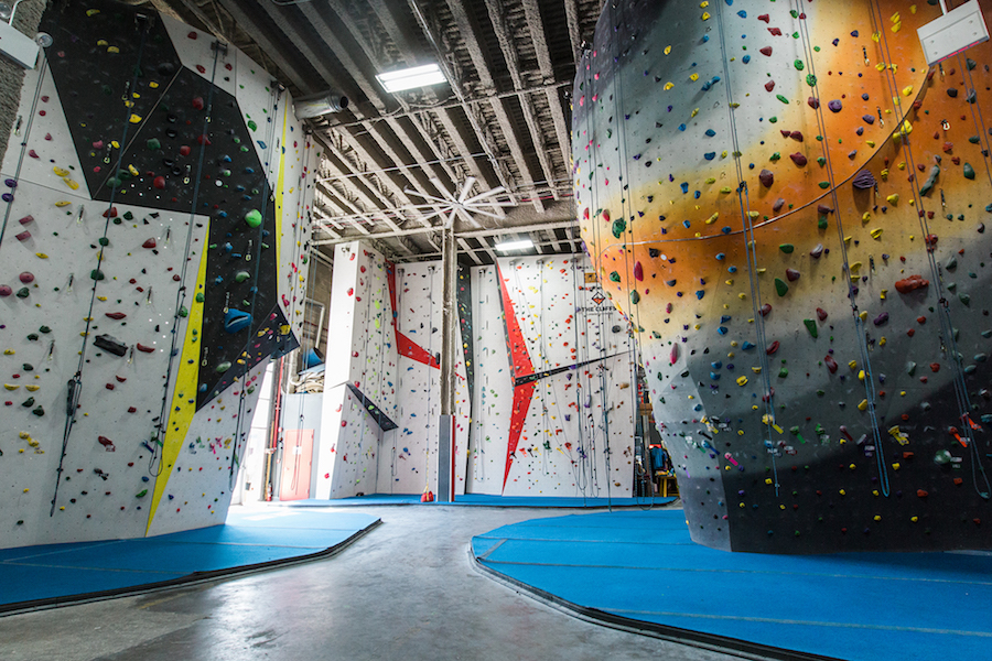 A Massive Cliffs Indoor Climbing Gym Is Opening In Callowhill
