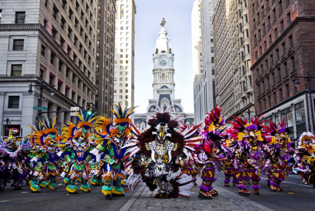 Mummers Voted Top Holiday Parade in the Country