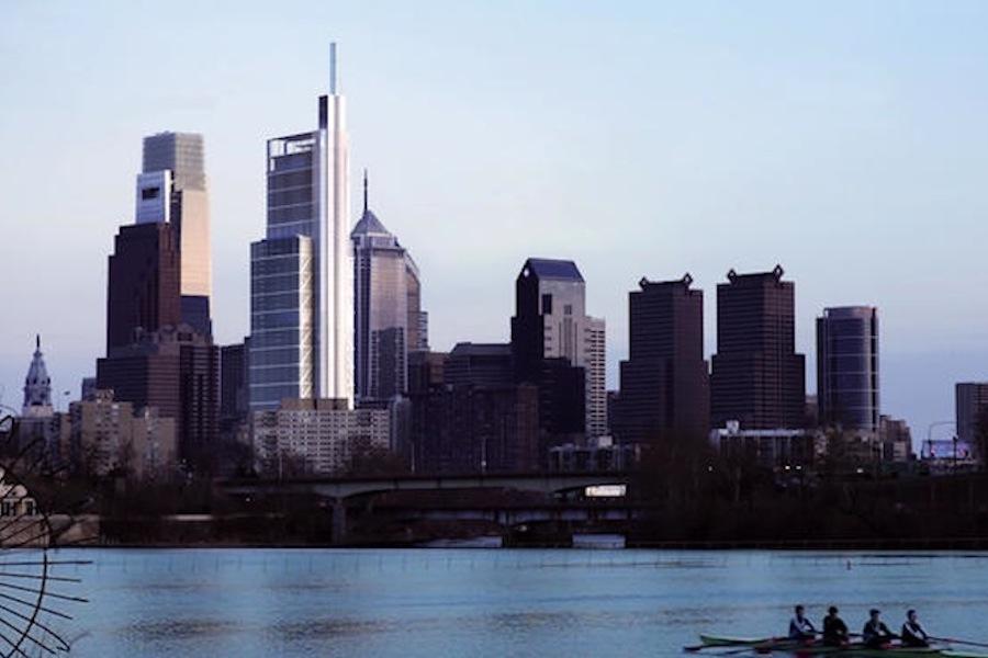 Comcast Tower Tops Off Philadelphia Magazine