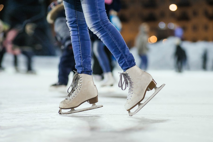 ice skate, free, philly
