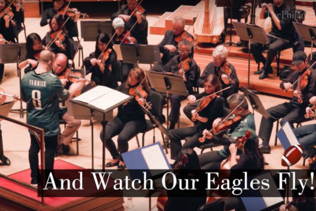 "WATCH: The Philadelphia Orchestra Performs ""Fly, Eagles, Fly"""