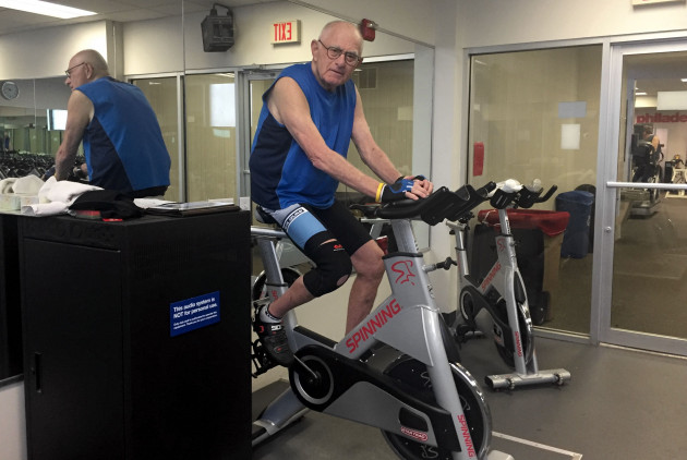 This 79-Year-Old Spin Instructor Still Teaches 3 Classes a Week — and He'll Totally Kick Your Butt