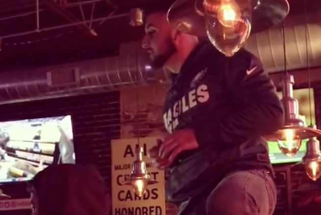 An Eagles Fan Celebrated Last Night's Win By Proposing to His Girlfriend
