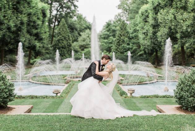 Further Proof that Longwood Gardens is a Disney Princess Dream Land for Wedding Photos