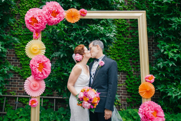 This Quirky Mütter Museum Wedding Began With a Citywide at Bob & Barbara's