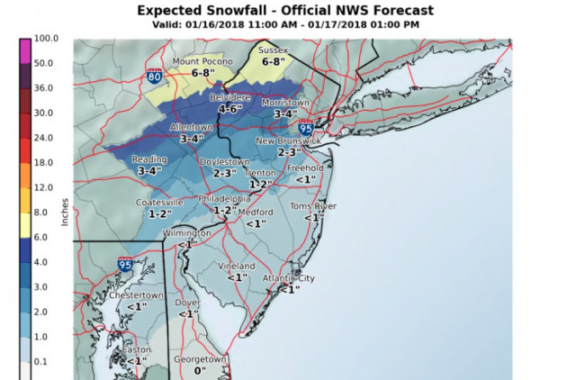 Light Snow Could Affect Wednesday's Morning Commute