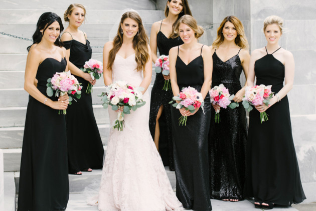 Of Course a Bloomingdale's PR Gal Had The Most Glam Pink Wedding