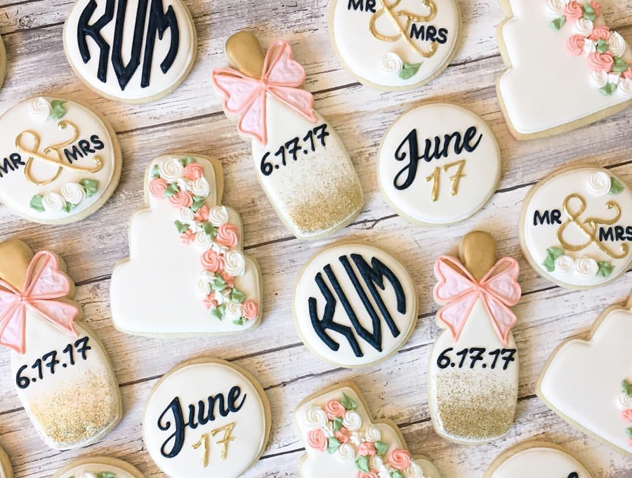 Where to Get Customized Cookies for Your Wedding in Philadelphia