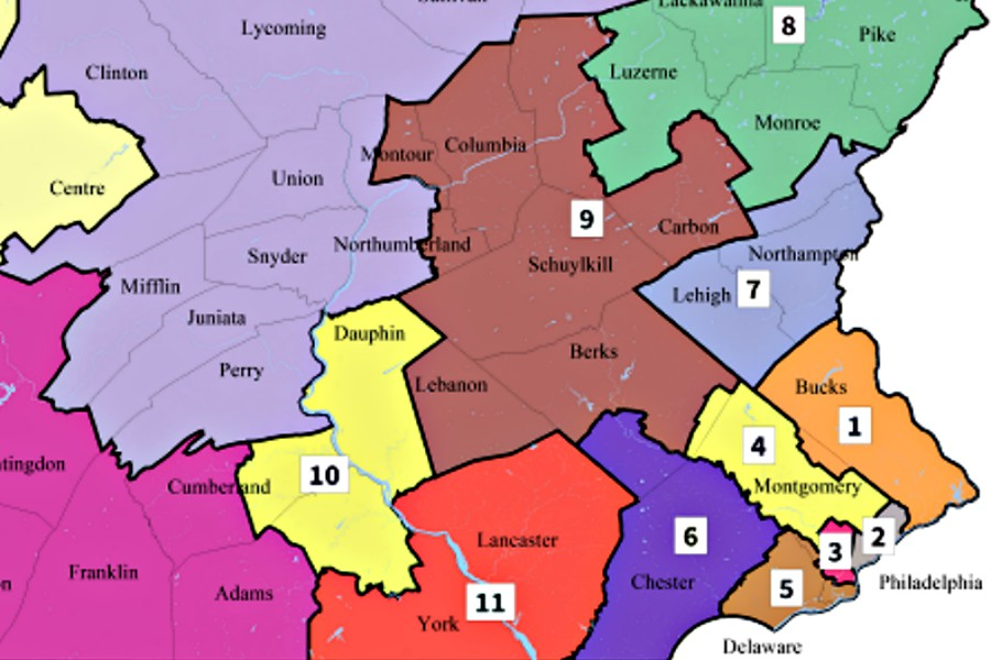 Here Are the Congressional Candidates Near Philadelphia Map Of Philadelphia And Surrounding Area on