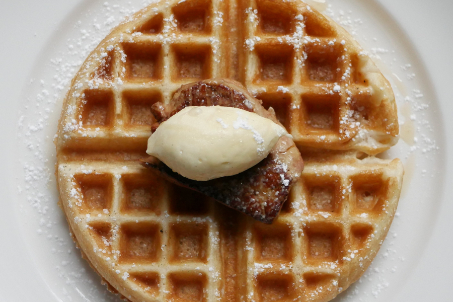 At Royal Boucherie's Brunch, Your Waffles Come Topped With Foie Gras