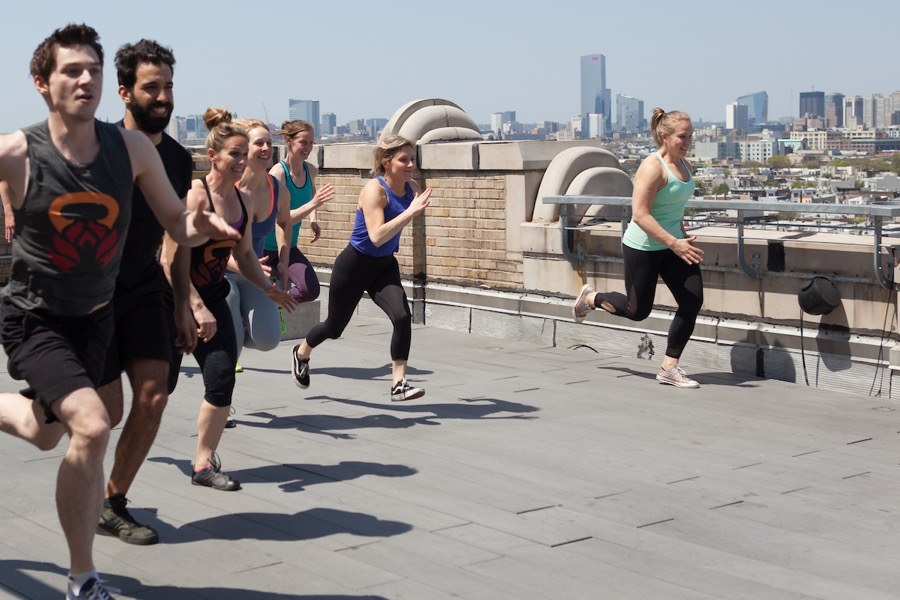 This Philly Trainer Is Hosting a Ton of Rooftop Workouts at Bok Bar