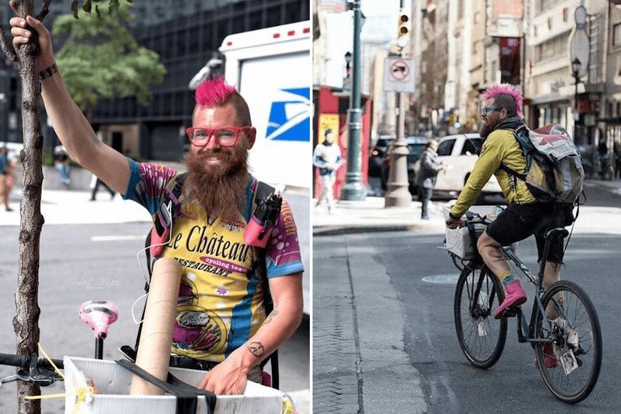 I Love My Job Philly Bike Messenger Pma Bike Ride Founder Joe Cox