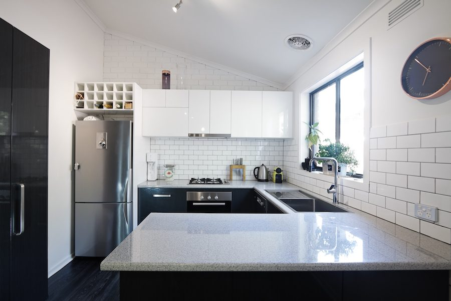 Black And White Kitchens Gray Front Doors Put Money In Your Pocket