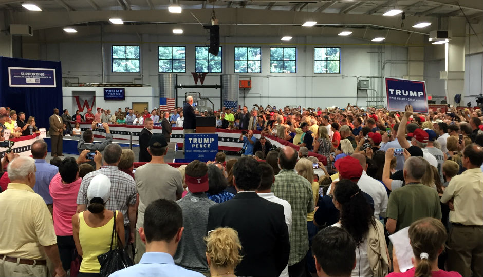 Mike Pence Rallies Voters in Bucks County | Photo by Jared Brey