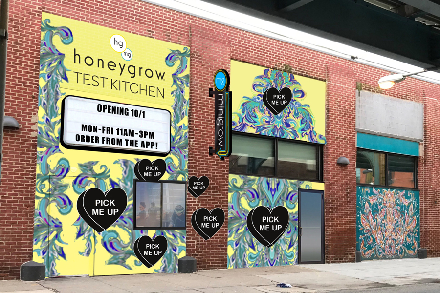 Check Out The Menu For Fishtown S New Honeygrow Test Kitchen