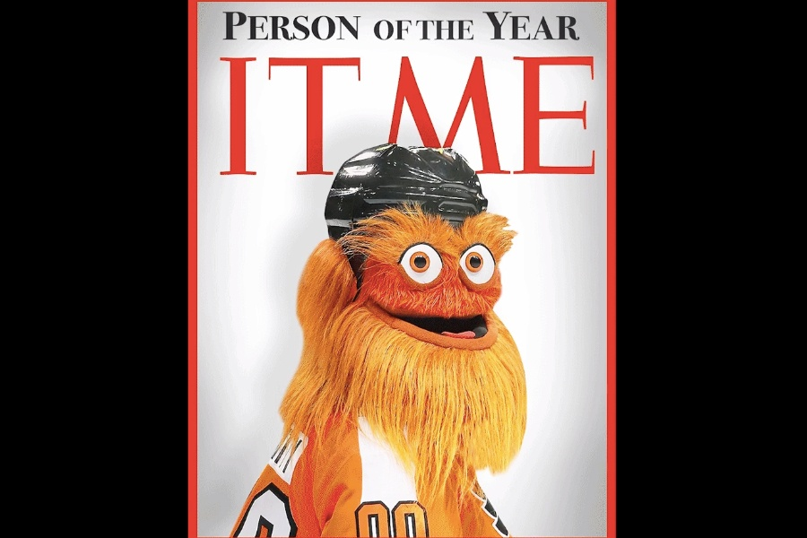 Philadelphia Flyers' Gritty Talks Thanksgiving And More
