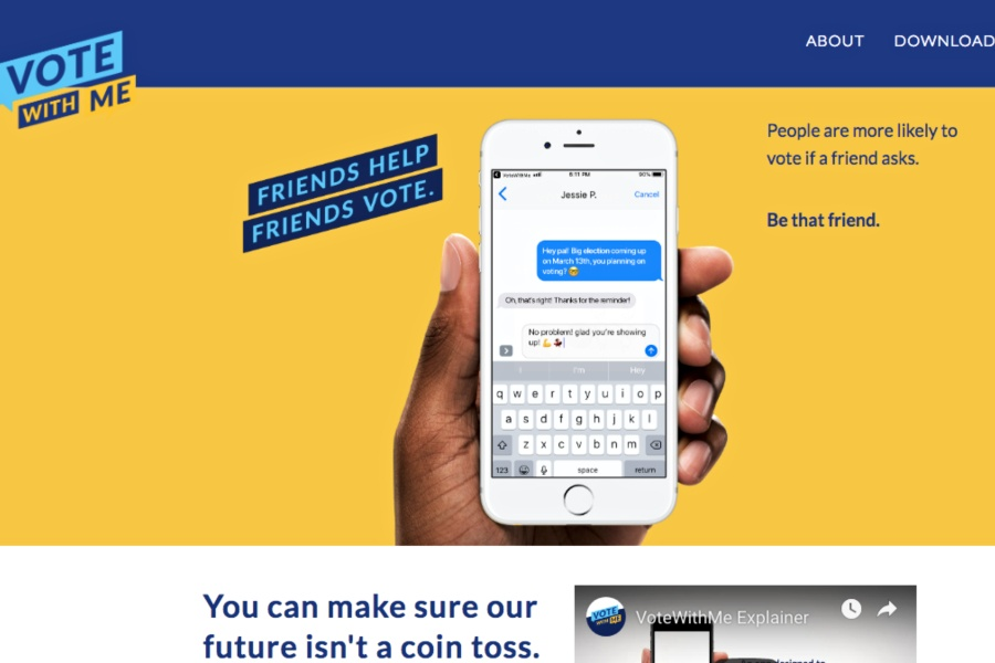 VoteWithMe: Philly, This App Tells You Which of Your Friends Don't Vote