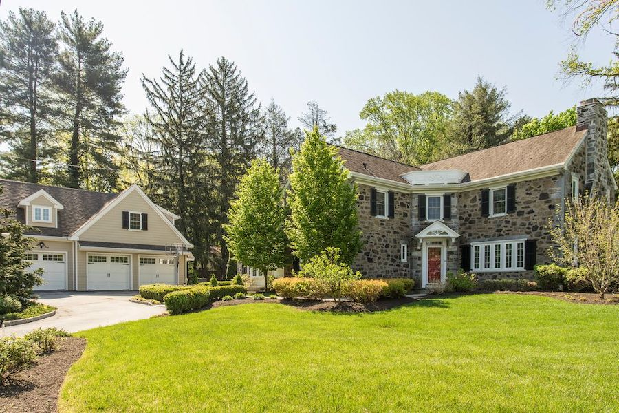 House For Sale Wayne Expanded Colonial Exterior Front
