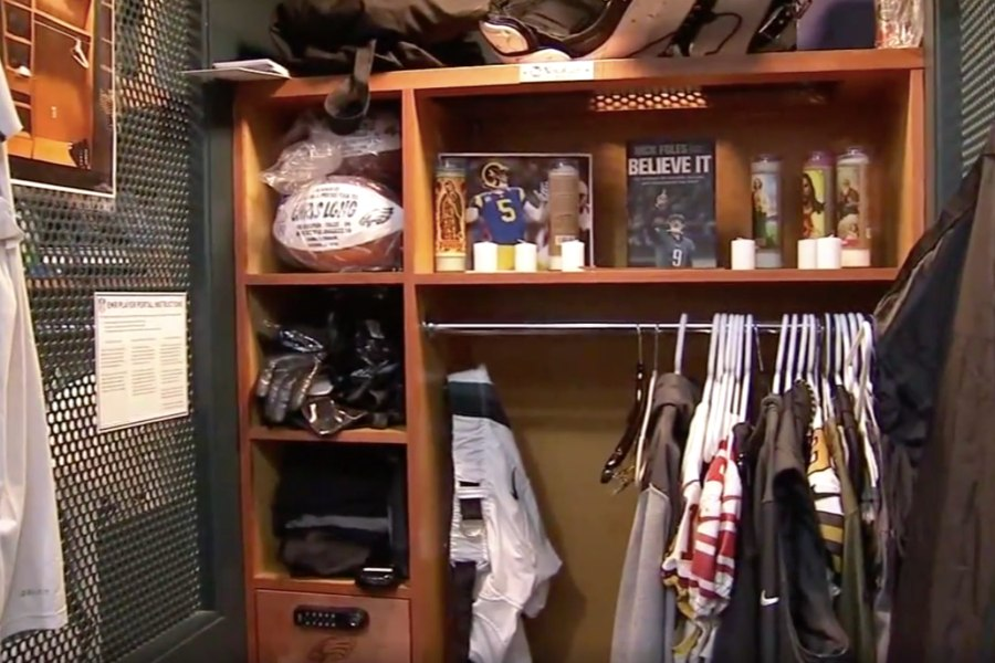 There S A Nick Foles Shrine In The Eagles Locker Room